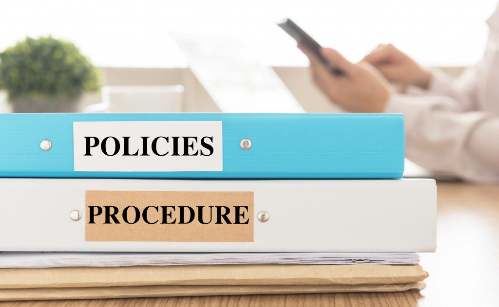 Policies and procedure documents