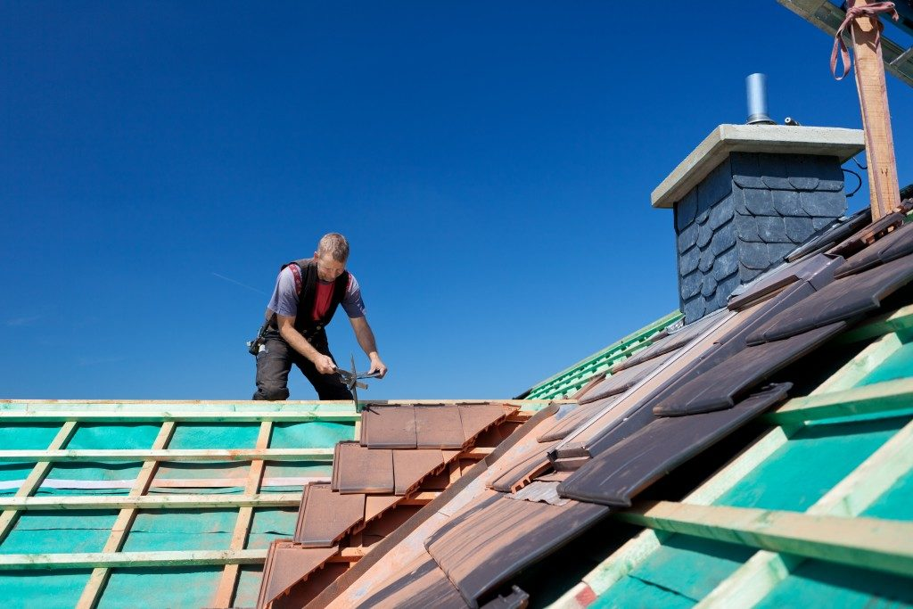 Changing roofing tiles to match the aesthetics of the house