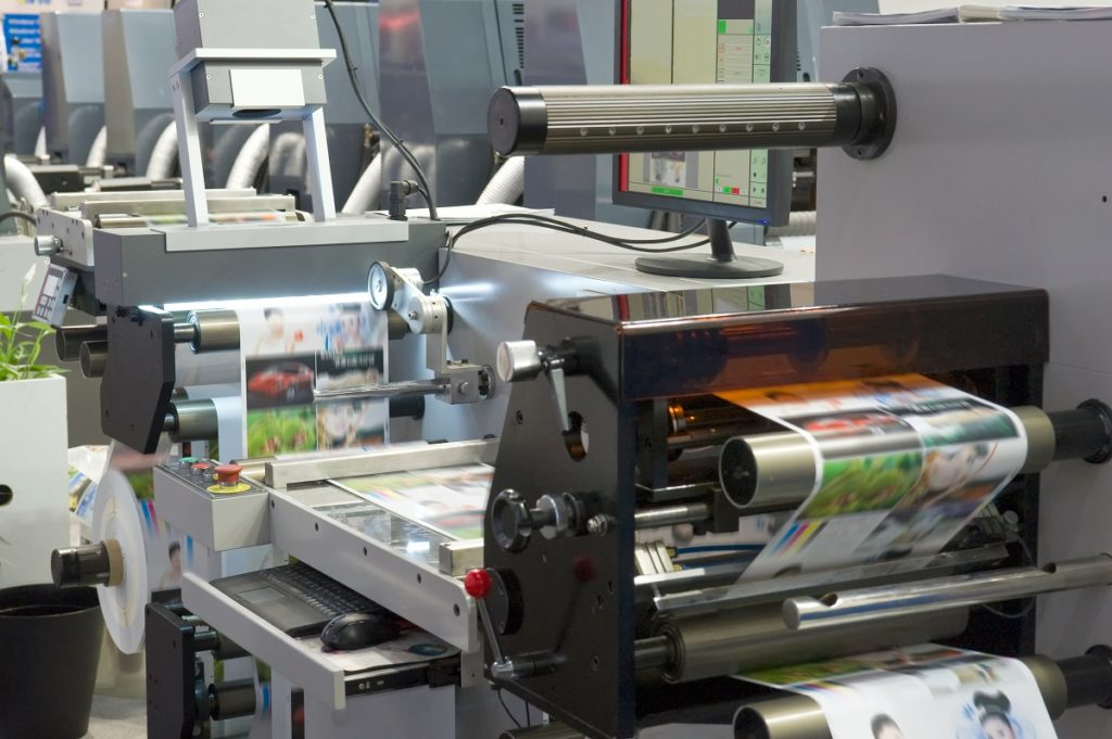 Large printing machine