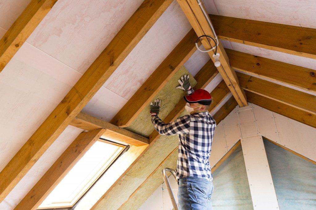 attic insulating