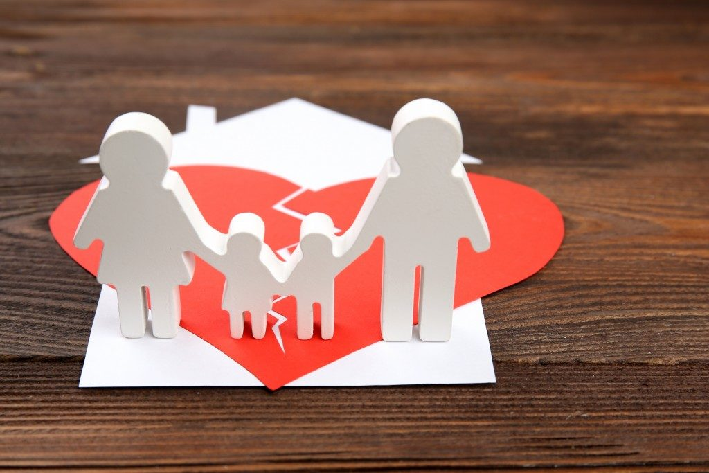 divorce effect of family and children