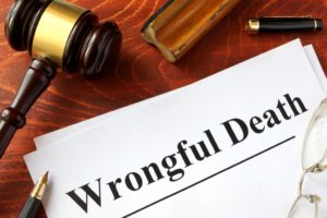 wrongful death claim