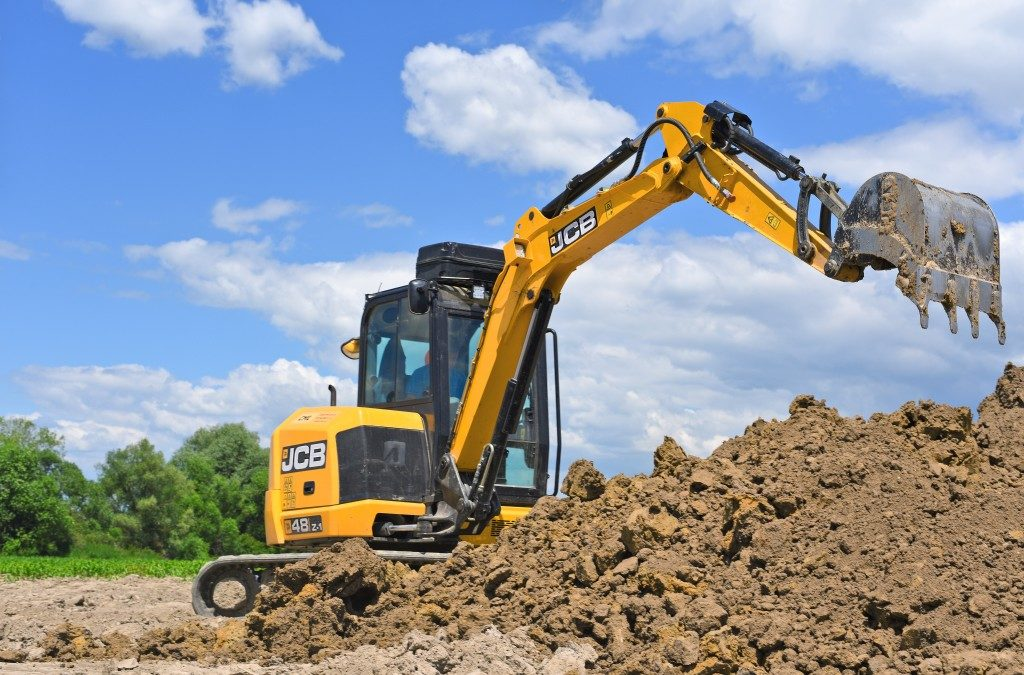 heavy equipment for excavation