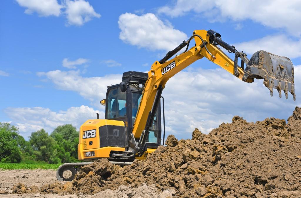 heavy equipment for excavation