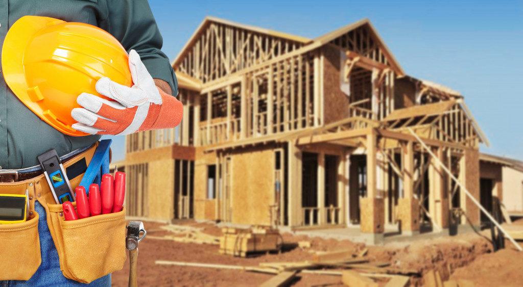 House foundation concept