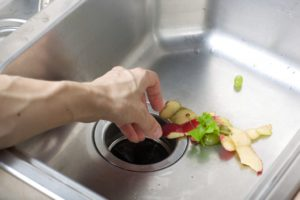 Food down the drain