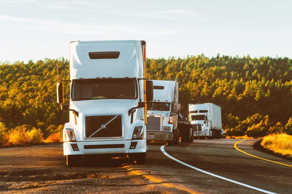 a fleet of truck