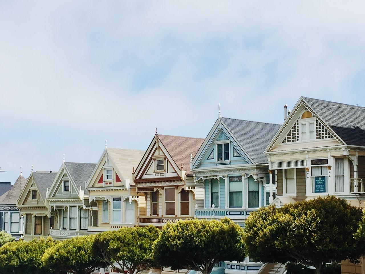 row of houses