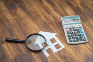 house cutout and calculator