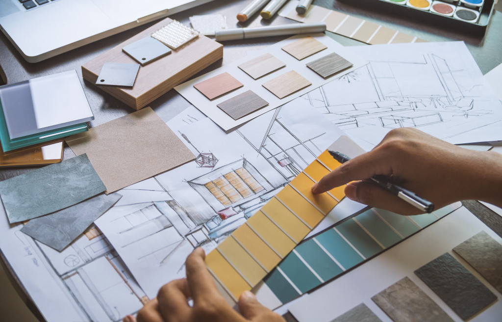 home design trends concept