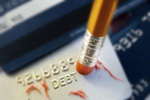 credit card debt concept