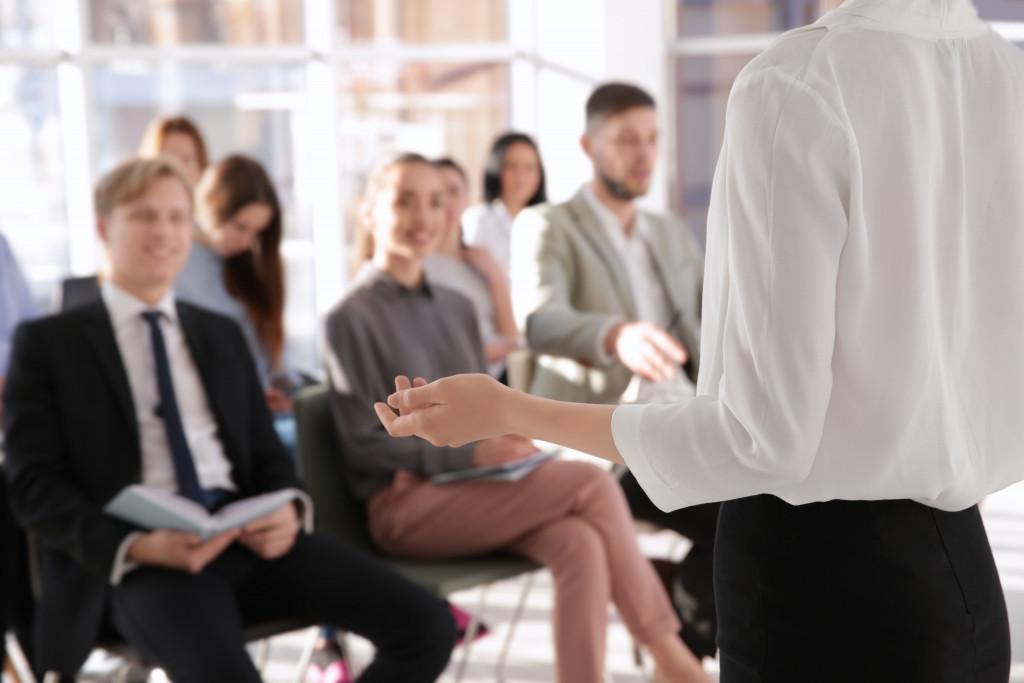 business meeting seminar