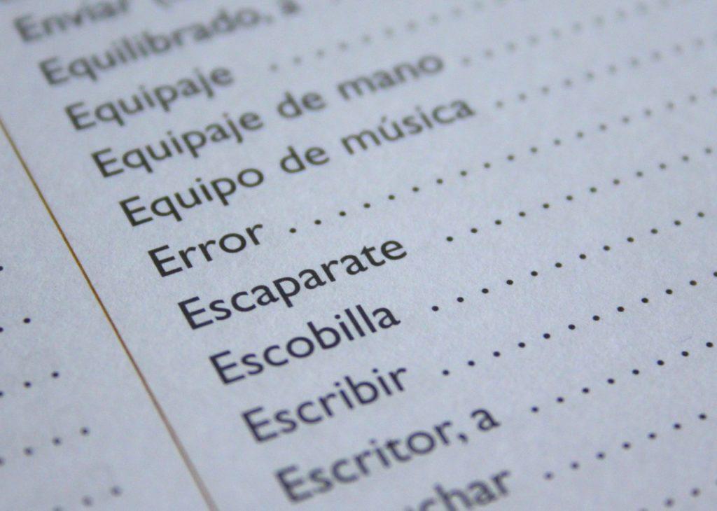 spanish text book