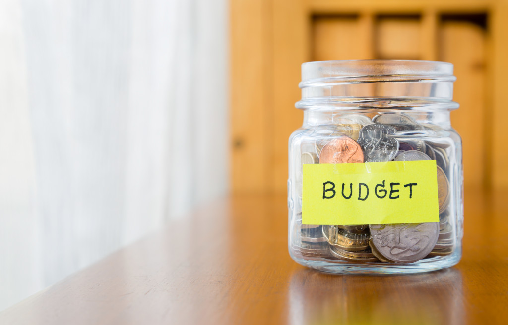 loose change in a money jar